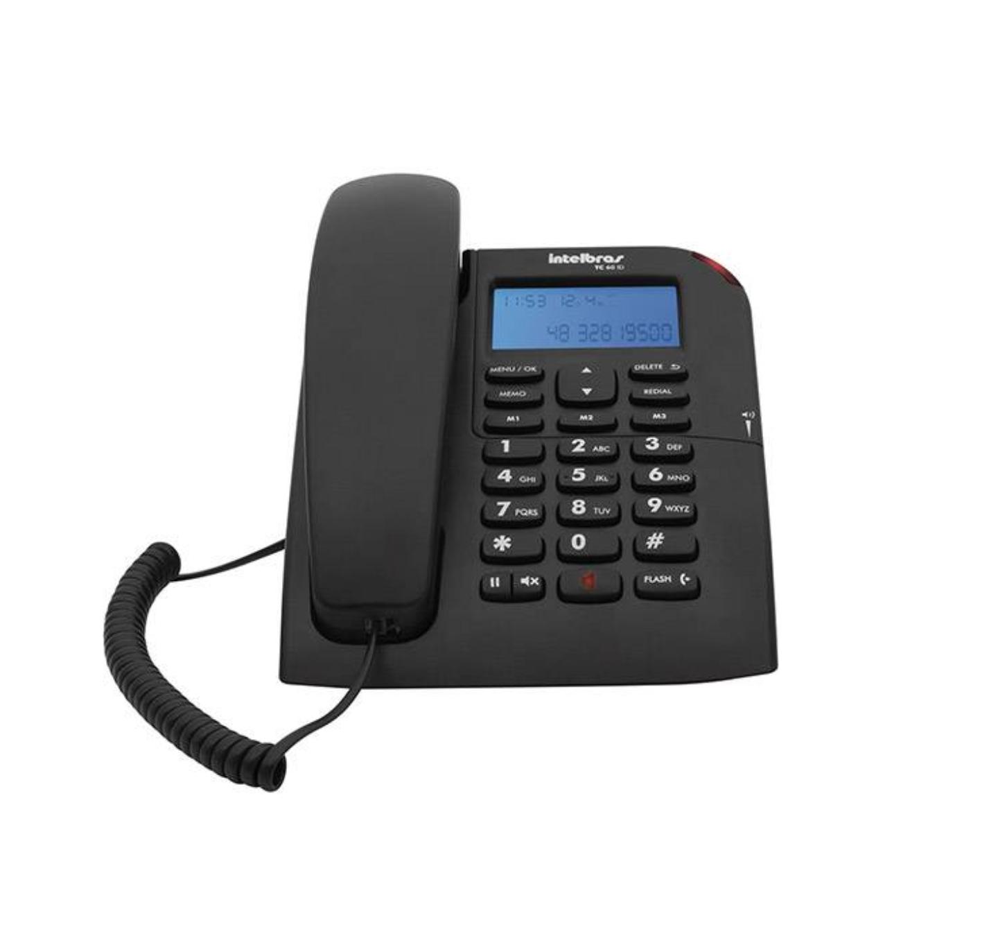 TELEFONE C/ FIO TC 60 ID CORP