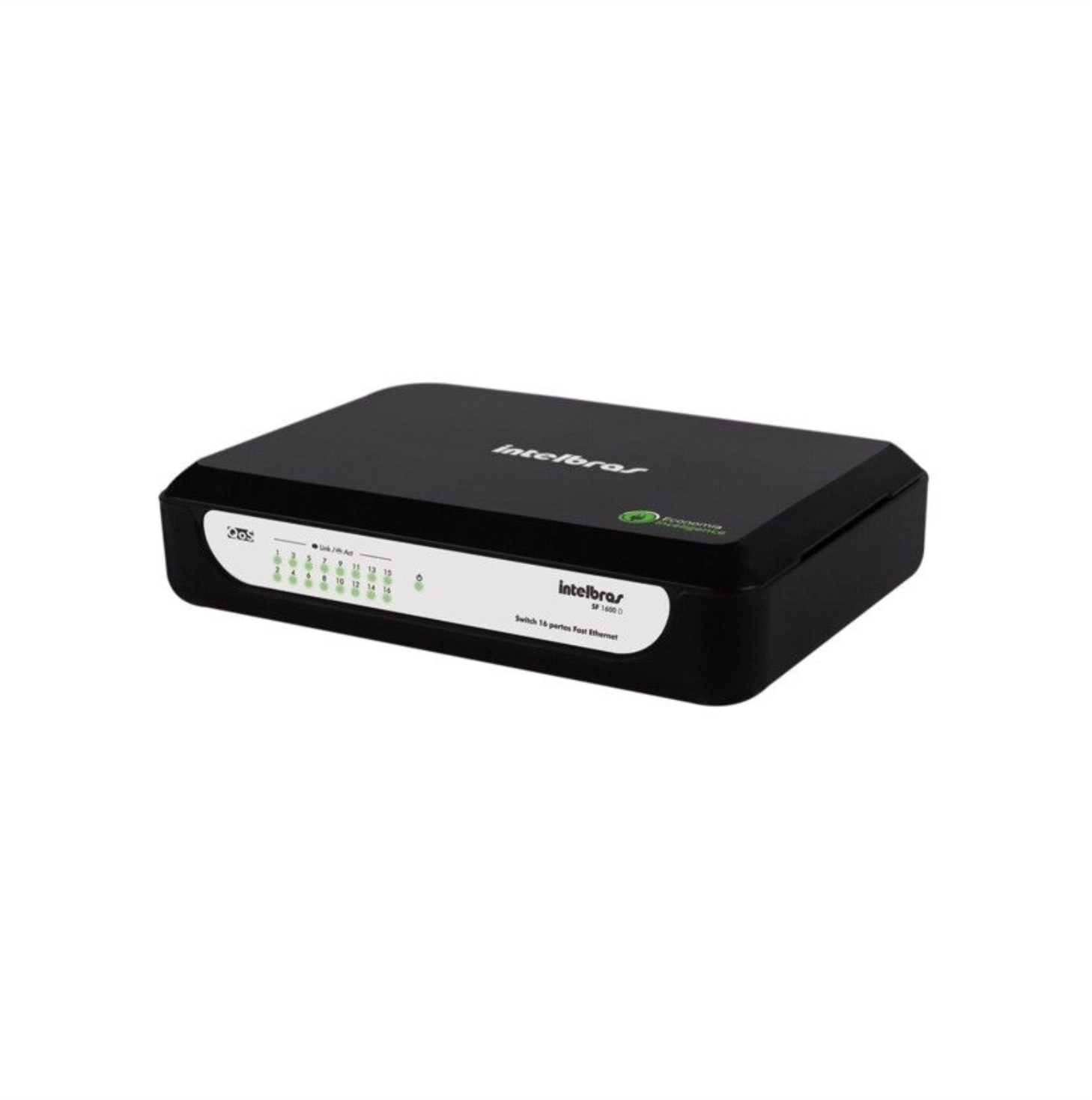 SWITCH 16 PORTAS FAST ETHERNET SF 1600D